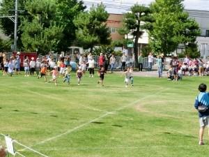 小学生徒競走