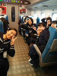 2日目(広島~京都:新幹線のぞみ車内)